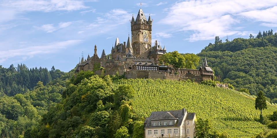 Cochem - Krydstogt på Mosel og Rhinen