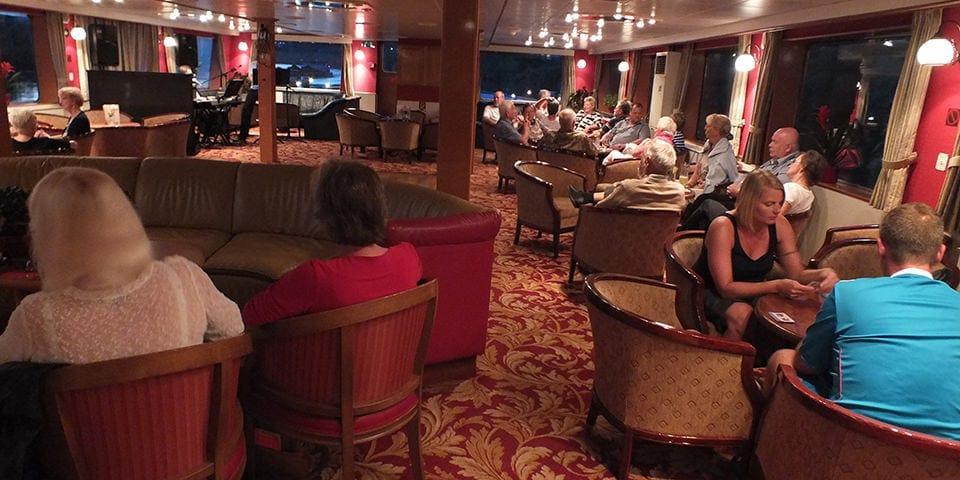 Hygge i Loungen på Ms Arlene - Krydstogt på Mosel og Rhinen