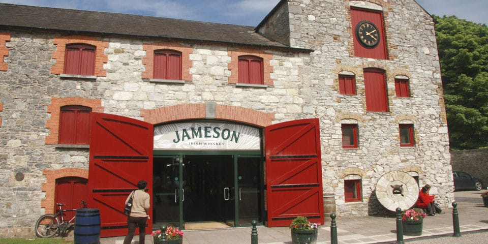 Jameson Irish Whiskey Heritage Centre.