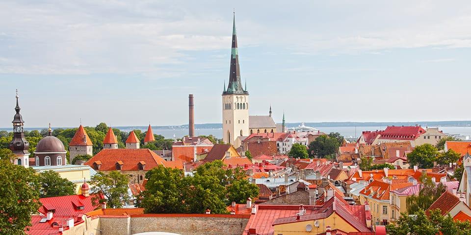 Tallinn, Estland - Krydstogt i Østersøen