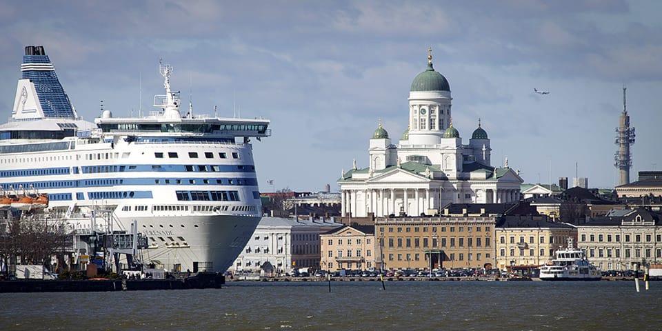 Havnen i Helsinki - Krydstogt i Østersøen