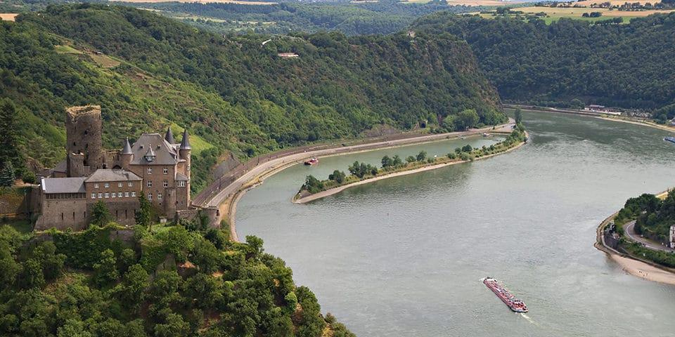 Loreleiklippen på vej til Rudesheim - Krydstogt på Mosel og Rhinen
