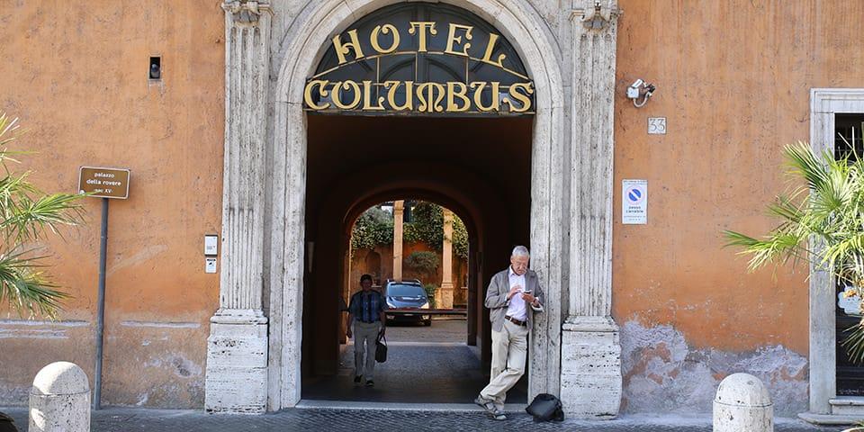 Hotel Columbus - Storbyferie i Rom