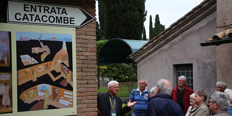 Katakomberne - Storbyferie i Rom