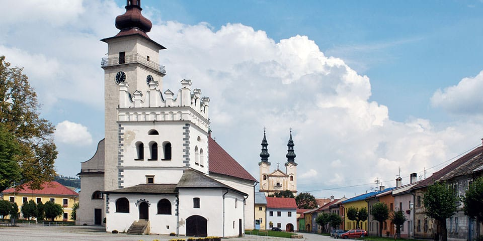 Spisska Sobota - Slovakiet & Tatrabjergene