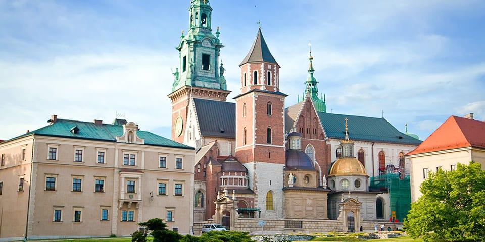 Wawel katedralen i Krakow - Slovakiet og Tatrabjergene