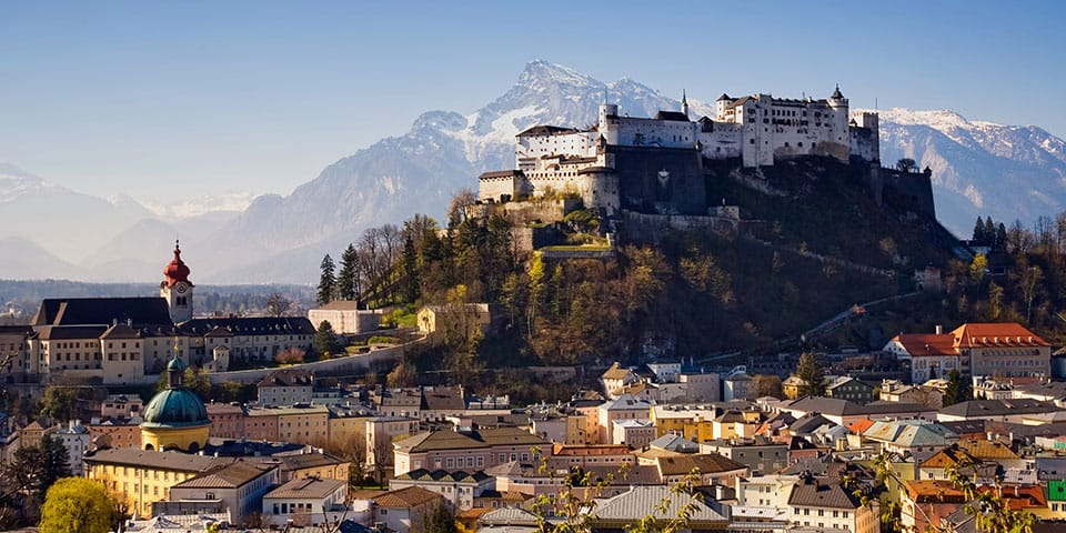Salzburg - Westendorf Tyrol i fuldt flor