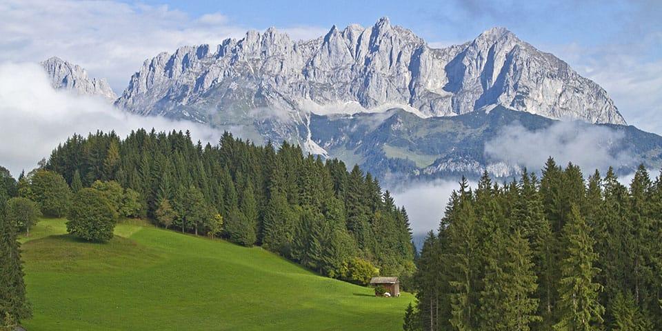 Kaiserbjergene - Westendorf Tyrol i fuldt flor