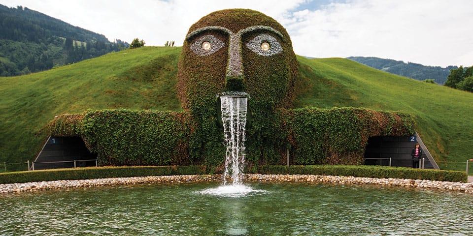Swarovski glasværket - Westendorf Tyrol i fuldt flor