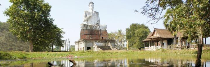 Battambang Big Buddha - Cambodja Et vidunderligt kongerige