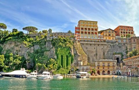 Havnen i Sorrento - Sorrento Langtidsrejse