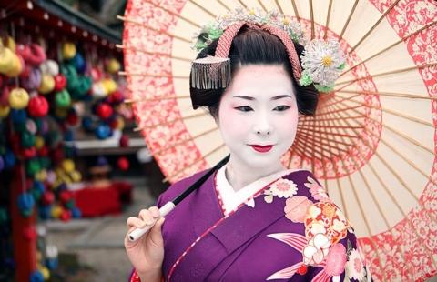 Geisha - Japan i blomst