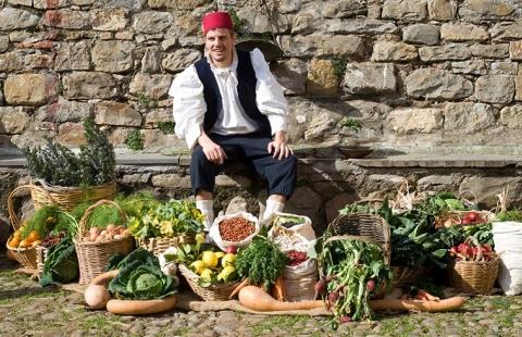 Italiensk groenthandler - Trevi byfest