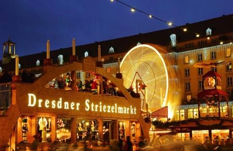 Dresdner Striezelmarkt - Dresden Julemarked