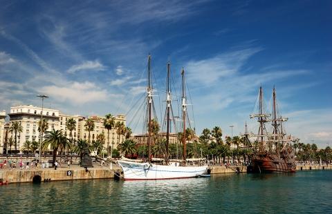 Spanien - Barcelona - Havn