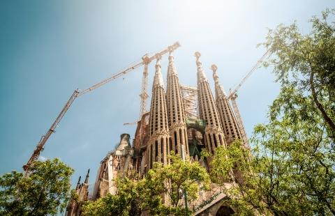 Gaudis berømte La Sagrada Familia