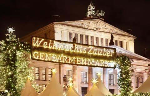Gendarmenmarkt i Berlin