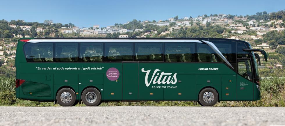 4- og 5-stjernede busrejser hos Vitus Rejser