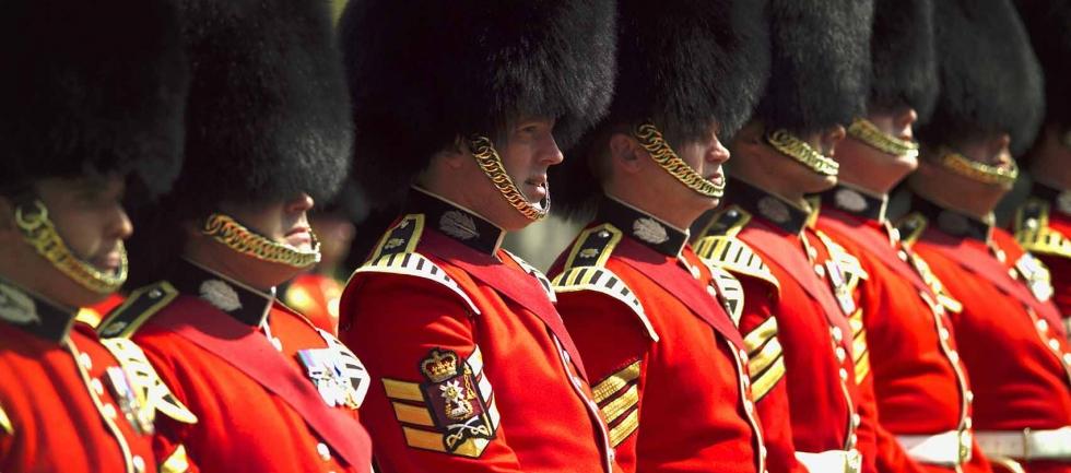 Soldater i London
