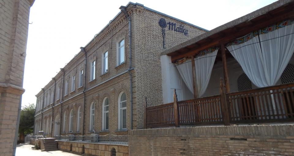 Hotel Malika.
