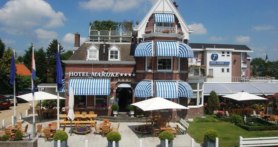 Det hyggelige Hotel Marijke.