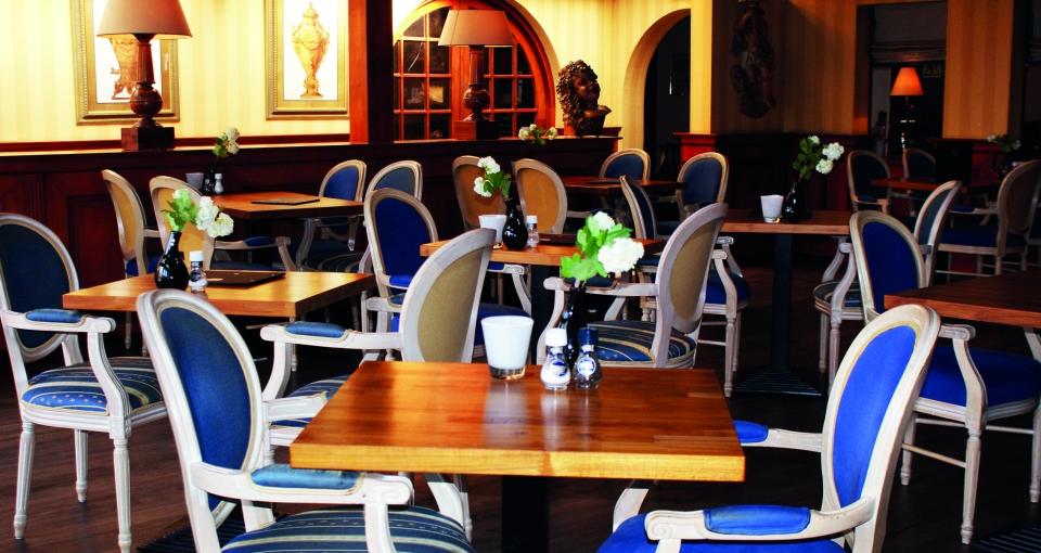 Restauranten på Hotel Marijke.