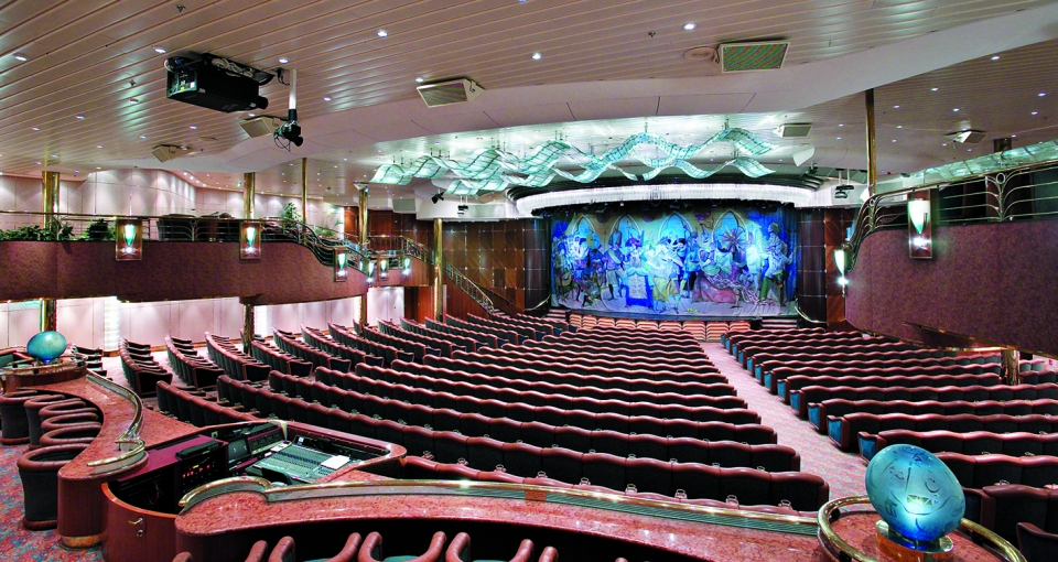 Vision of the Seas - Teater