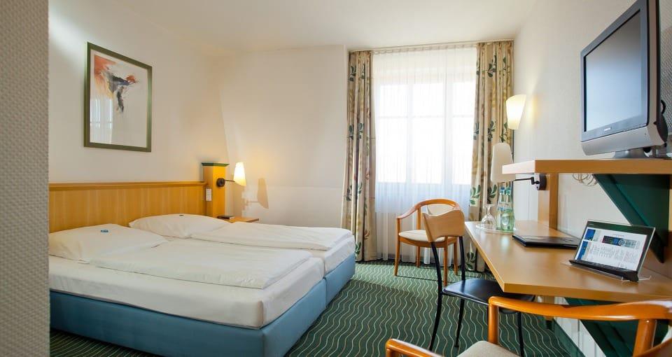 HKK Hotel Wenigerode - Eksempel på et standardværelse.