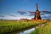 Traditionel mølle i Holland.