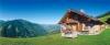 Hytte i smukke omgivelser i Alperne.