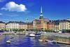 Havnen i Stockholm.