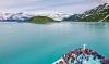 Hubbard gletsjeren i Alaska.