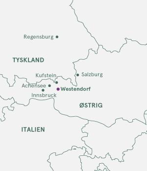 Kort over Westendorf