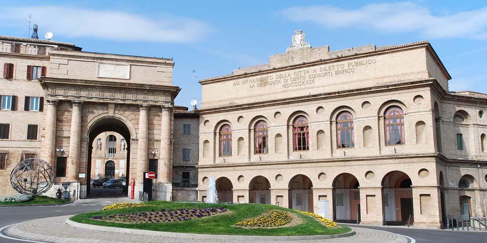 Sferisterio i Macerata, hvor vi skal se opera.