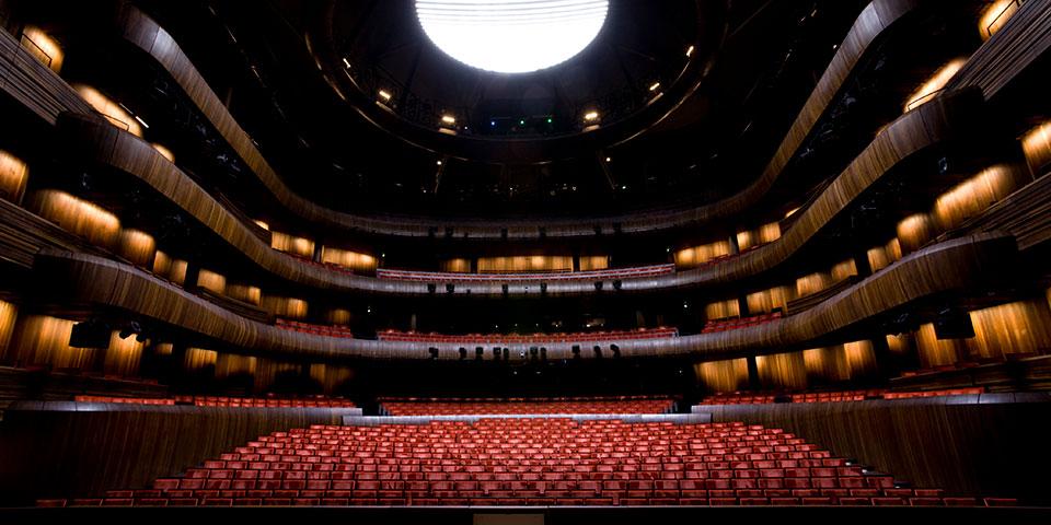Salen i Oslos flotte opera.