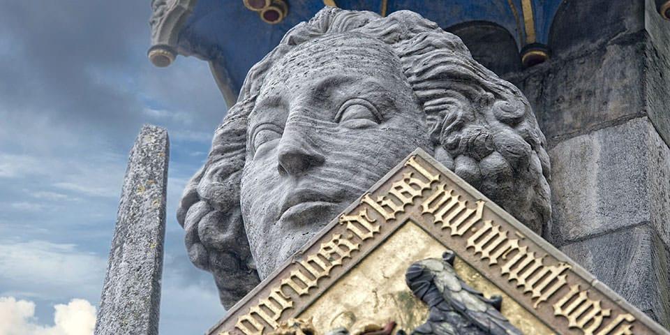 Statue af Roland i Bremen