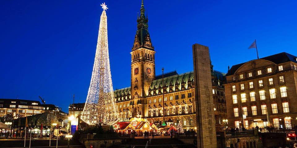 Julemarked i Hamborg