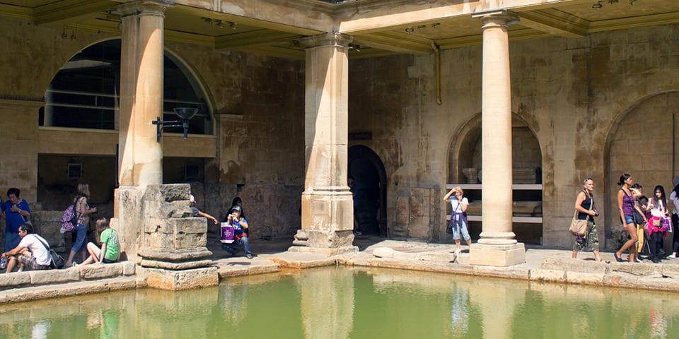 De romerske bade i Bath.