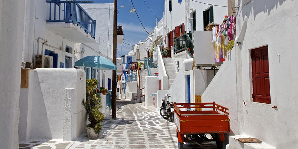 Mykonos er indbegrebet af Grækenland.