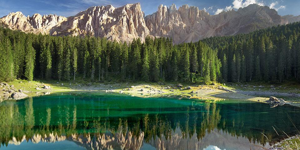 Den smukke Lago di Carezza.