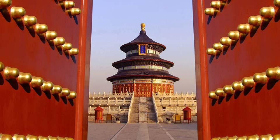 Himlens tempel i Beijing.