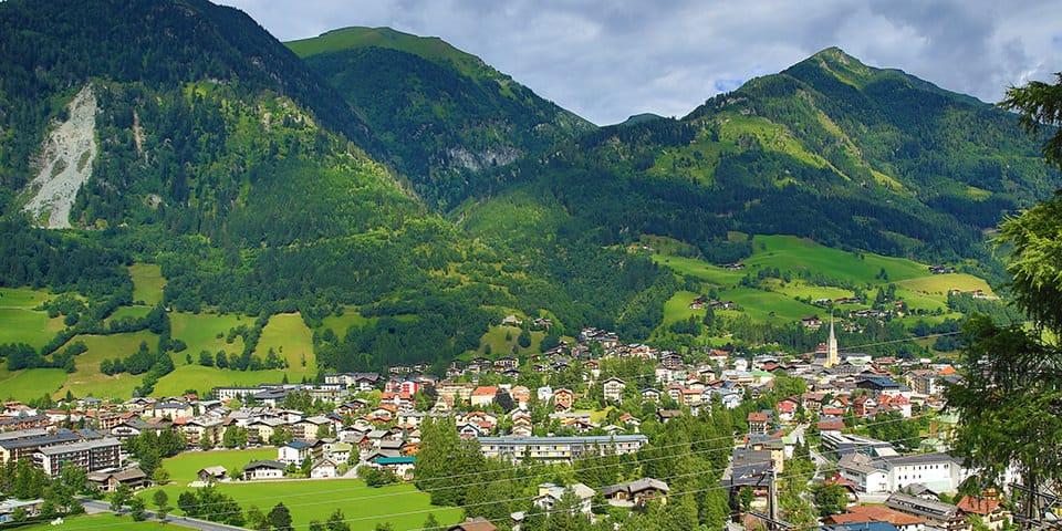 Udsigten over Bad Hofgastein fejler bestemt ikke noget.