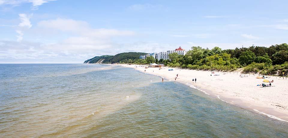 Stranden i Misdroy