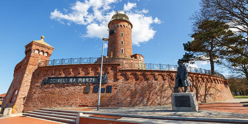 Fyrtårnet i Kolobrezeg.