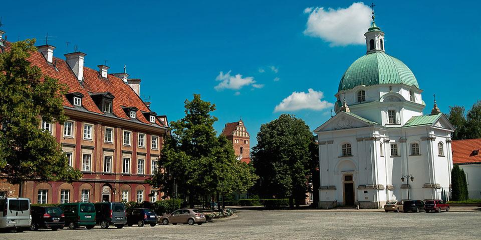 Kirken i Kazimierz.