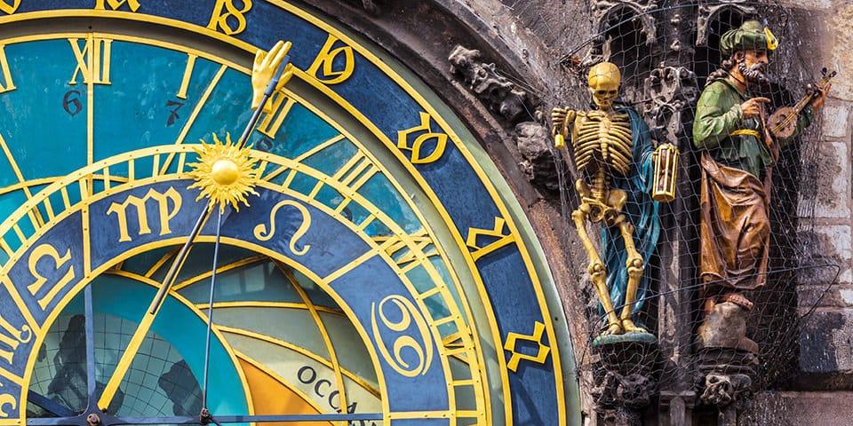 Det astronomiske ur i Prag, Tjekkiet - Prag