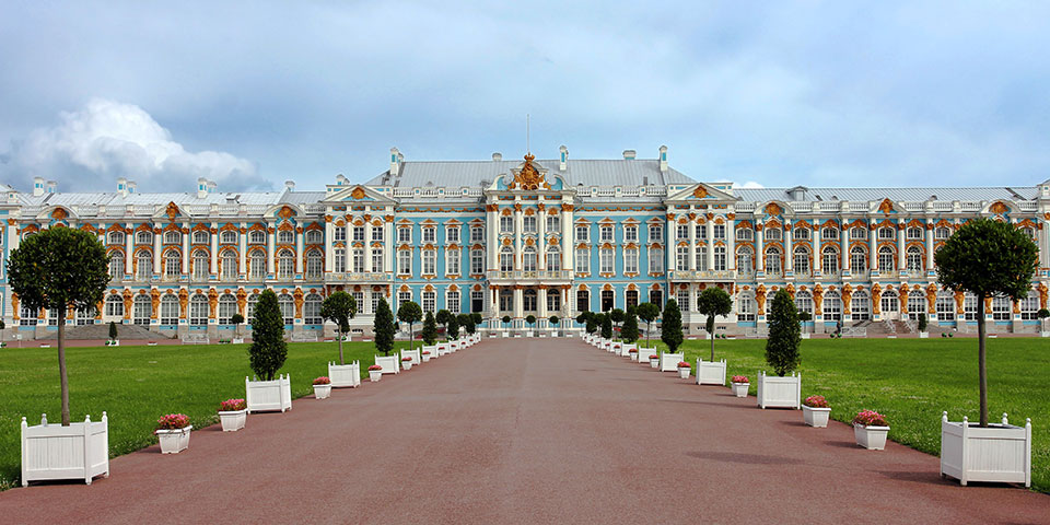 Det storslåede Katarinapalads.