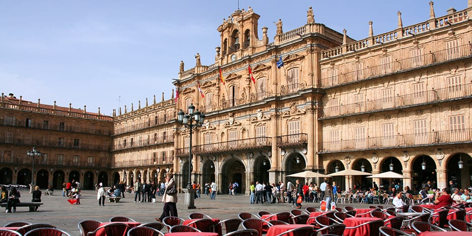 Plaza Mayor i Salamanca.