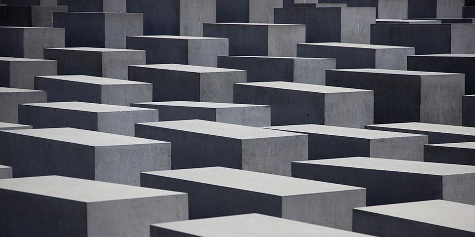 Monumentet for Holocaust i Berlin.