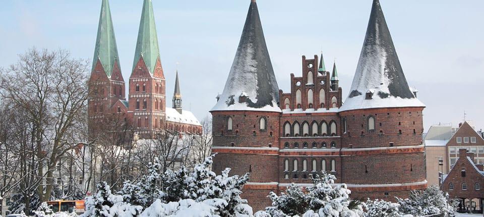 Holstentor - porten til Lübeck.